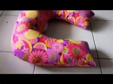 membuat bantal menyusui  menggunakan mesin jahit
