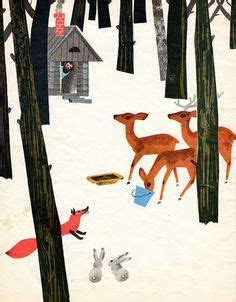 Intergalactic Proton Powered by Deer Fox Squirrel Birds Bunny Snow Forest By