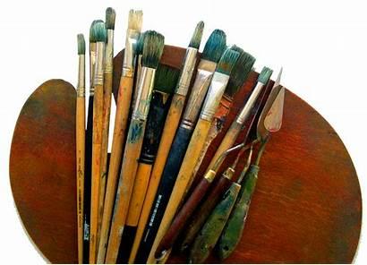 Paint Palette Air Tools Plein Checklist Brushes