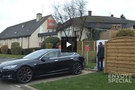 sur si鑒e voiture tesla réagit officiellement au reportage d envoyé spécial sur la voiture électrique