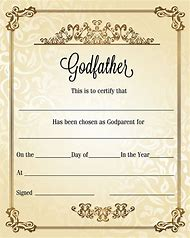 Best 25 ideas about baptism certificate find what youll love godparents certificate templates yelopaper Images