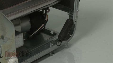 ge dishwasher door spring replacement wdx youtube