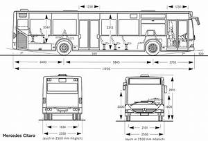 Mercedes-benz Citaro Blueprint