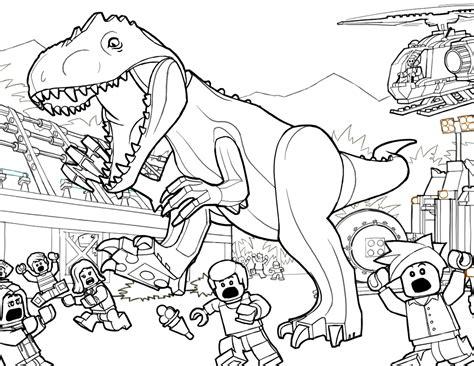 dibujos de dinosaurios de jurassic world 2 para colorear