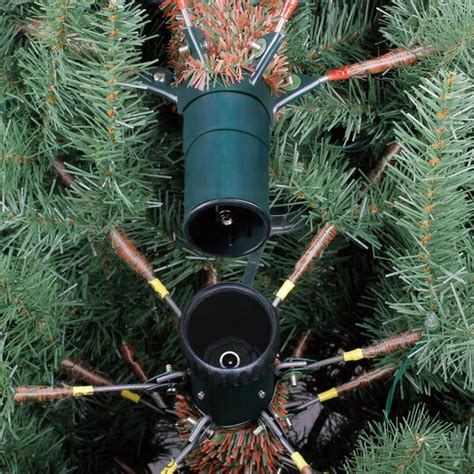 ashland willow pine imsge 9 ft pre lit slim willow pine artificial tree clear lights by ashland