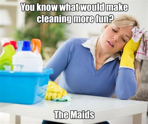 Clean House Meme - these 6 cleaning memes will brighten your day the maids blog