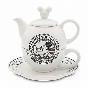 Tea For One Set : your wdw store disney tea set mickey mouse tea for one set gourmet mickey black ~ Orissabook.com Haus und Dekorationen