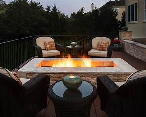 rectangle-fire-pit-Deck-Mediterranean-with-deck-fire-pit