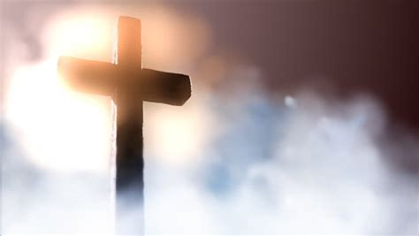 Cross Hd Picture by Three Wooden Crosses Stock Footage 1902742