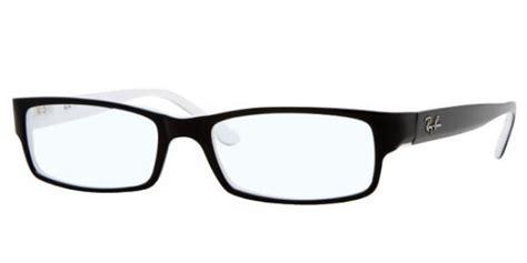 bilder mit weißem rand ban kunststoff brille rx 5114 2044 gr 54 in der farbe schwarz black white