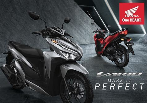 Honda Vario 150 2019 by 4 Warna Honda Vario 150 2019 Terbaru Cbs Iss Harga
