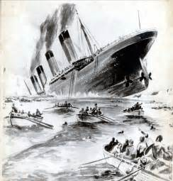 A Real Picture Of The Titanic Sinking by Women And Children First Sadly We Re Not Quite As