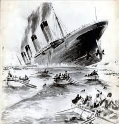 Real Titanic Sinking