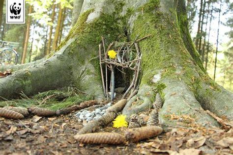 Haus Im Wald Bauen by Im Wald Unterwegs H 252 Tten Und Barfusspfade Bauen