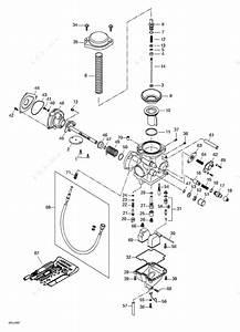 Bombardier 2000 Traxter - 7405  7406  Carburetor
