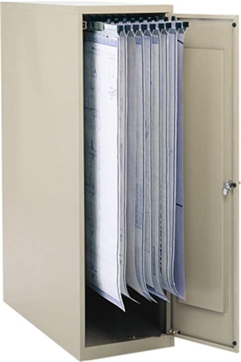safco large vertical blueprint storage cabinet
