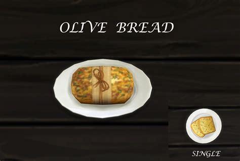 customisation cuisine mod the sims olive bread custom food update 10th nov