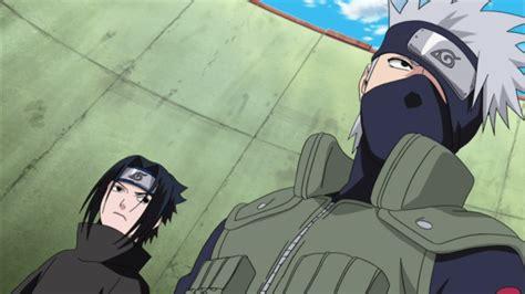 Sasuke's Entrance At Chunin Exams