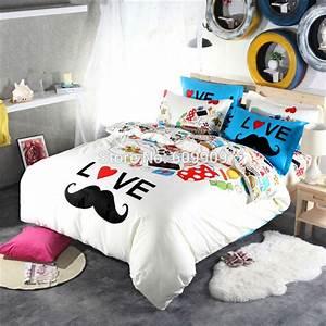 achetez en gros drole lit feuilles en ligne a des With bed covers for teenage girl