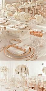 Rose Gold Decor : rose gold wedding inspiration onewed ~ Teatrodelosmanantiales.com Idées de Décoration