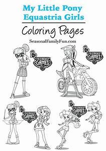 Equestria Girls Coloring Pages  Mylittlepony