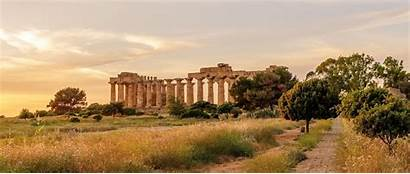 Ancient Greece Greek Empedocles Sicily Temple Wallpapers