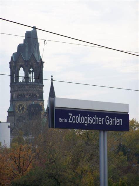 Zoologischer Garten Berlin Kirche by Bahnhof Berlin Zoologischer Garten Am 29 Oktober 2007 Im