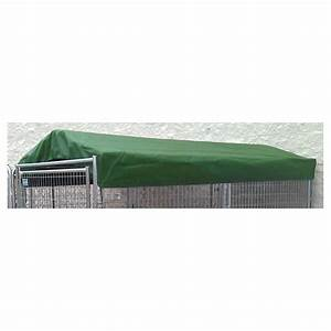 Polytufr 5x1039 kennel cover with frame 423980 kennels for 5x10 dog kennel cover