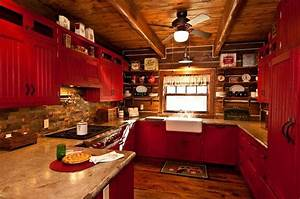 Red country kitchen kitchen ideas pinterest for Red country kitchens