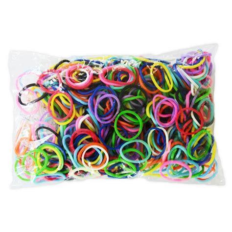 600 233 lastiques mix recharge loom creastic bracelet elastiques kit loom