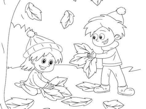 Cijfer Kleurplaat Herfst by Spelen In De Herfst Kleurplaat