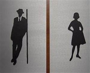 192039s themed toilet signs ladies gents gbp150 21st for Cool bathroom signs