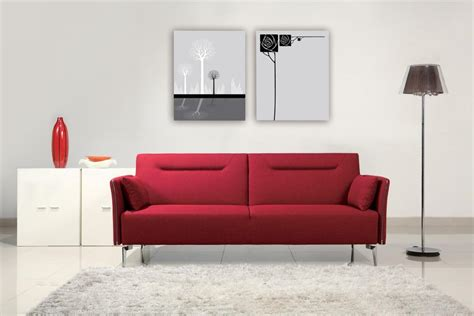 Superb Contemporary Red Fabric Single Convertible Sofa Bed Espuma Sofas Valencia Sofa And Chairs Bloomington Mn Black Leather Corner Bed Argos Small Living Room Arrangement Fernando Fabric Right Hand Dfs Recliner Denver Uk Silver Crushed Velvet Chesterfield