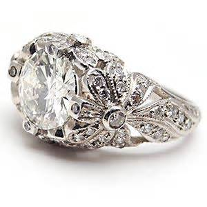 fashioned engagement rings antique style engagement rings ideal weddings