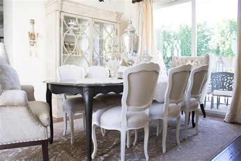 dining room elegant neutral