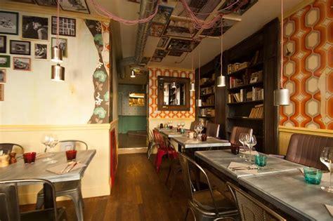 cuisine industrielle deco bistrot restaurant vintage industriel à la décoration