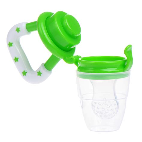 silicone baby feeder baby fresh fruit food soft feeder infant safety