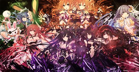 anime date a live dub date a live all season episode anime