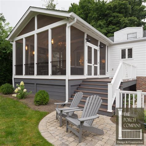 screened back porch screened porch and garage oasis the porch companythe
