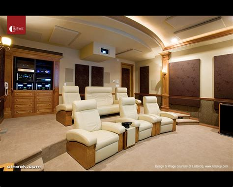 cineak fortuny home theater seats modern home theater