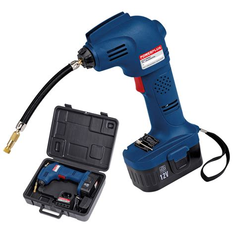 akku kompressor test powerplus akku luftpumpe druckluftpumpe fahrradluftpumpe ballpumpe 12v koffer ebay