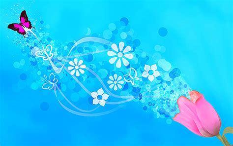 dress aqua biru butterfly background powerpoint backgrounds for free