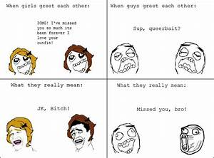 Rage Comic Faces Girl images