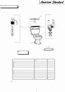 American Standard Indoor Furnishings 2860 Series User