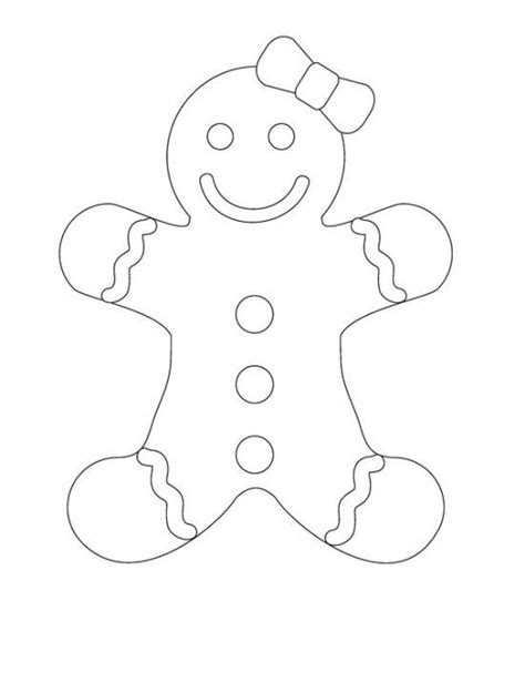 gingerbread color free printable gingerbread coloring pages for