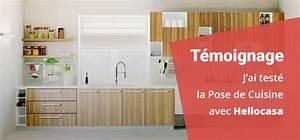 Ikea Pose Cuisine : j 39 ai test la pose de cuisine par hellocasa ~ Melissatoandfro.com Idées de Décoration