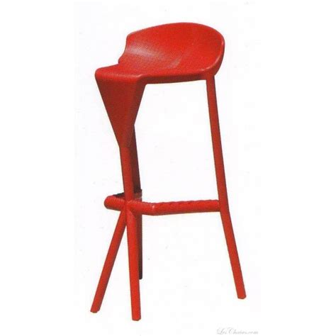 tabouret de bar design shiver et tabourets bar plastique chaises haute de bar design