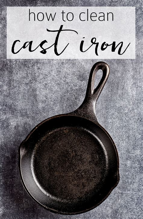 Clean Cast Iron Fast  The Simple Trick To Keeping It Clean