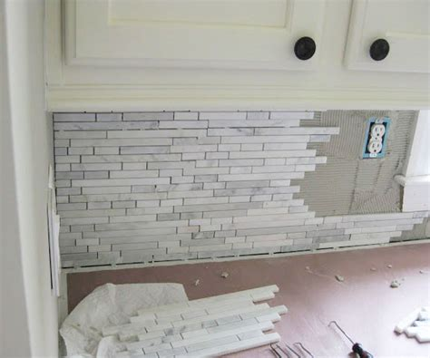 how to install backsplash kitchen kitchen backsplash how to install homestartx com