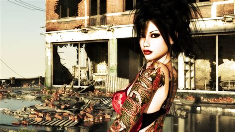 inked girls wallpaper  images